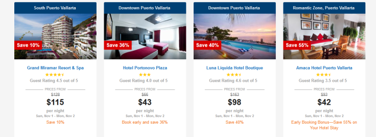peurto vallarta hotel deals