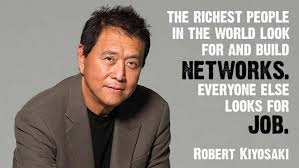 rich dad poor dad, robert kiyosaki, out of the box thinking, network marketing, build networks, extra income
